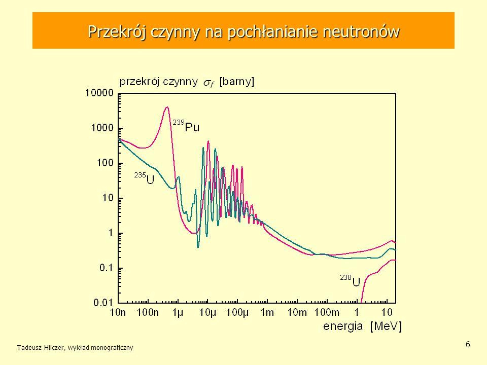 Przekrój czynny na pochłanianie neutronów