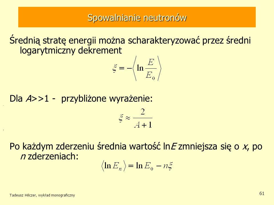 Spowalnianie neutronów