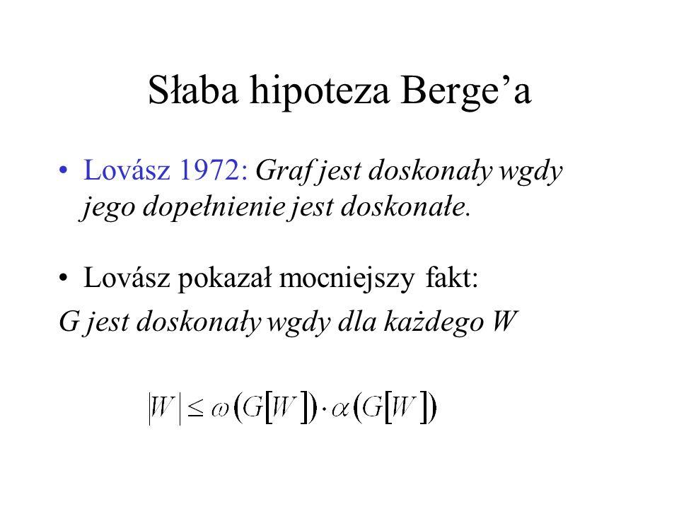 Słaba hipoteza Berge'a