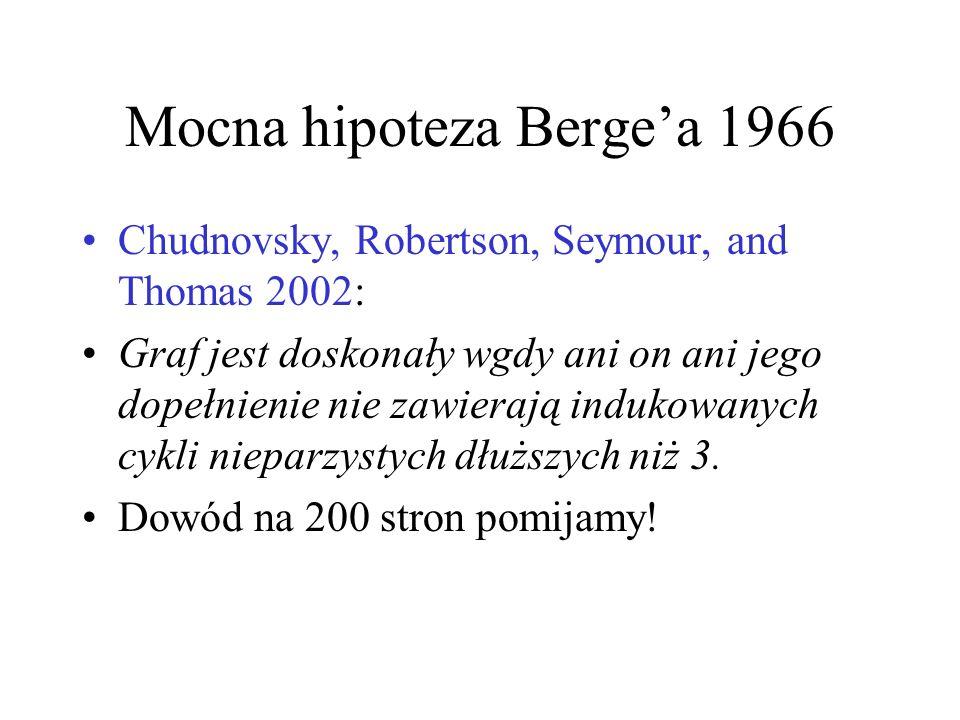Mocna hipoteza Berge'a 1966