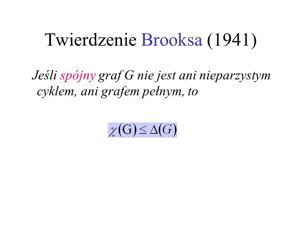 Twierdzenie Brooksa (1941)