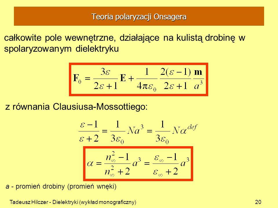 Teoria polaryzacji Onsagera