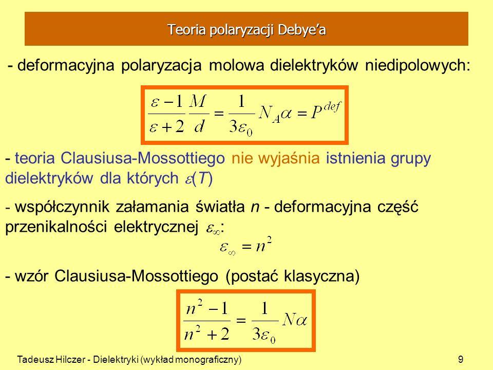 Teoria polaryzacji Debye'a