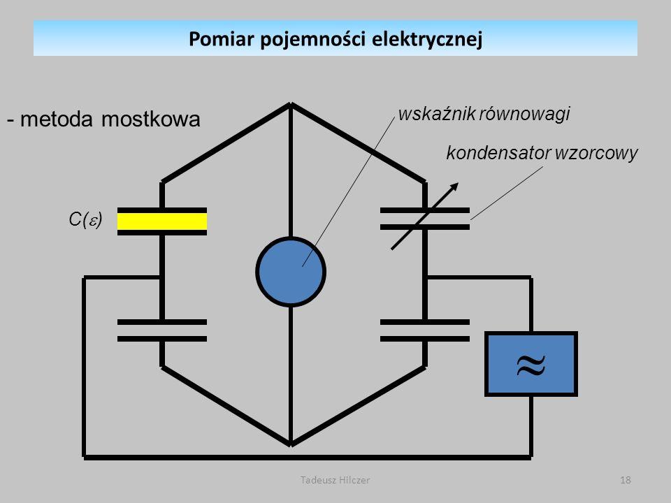 Pomiar pojemności elektrycznej