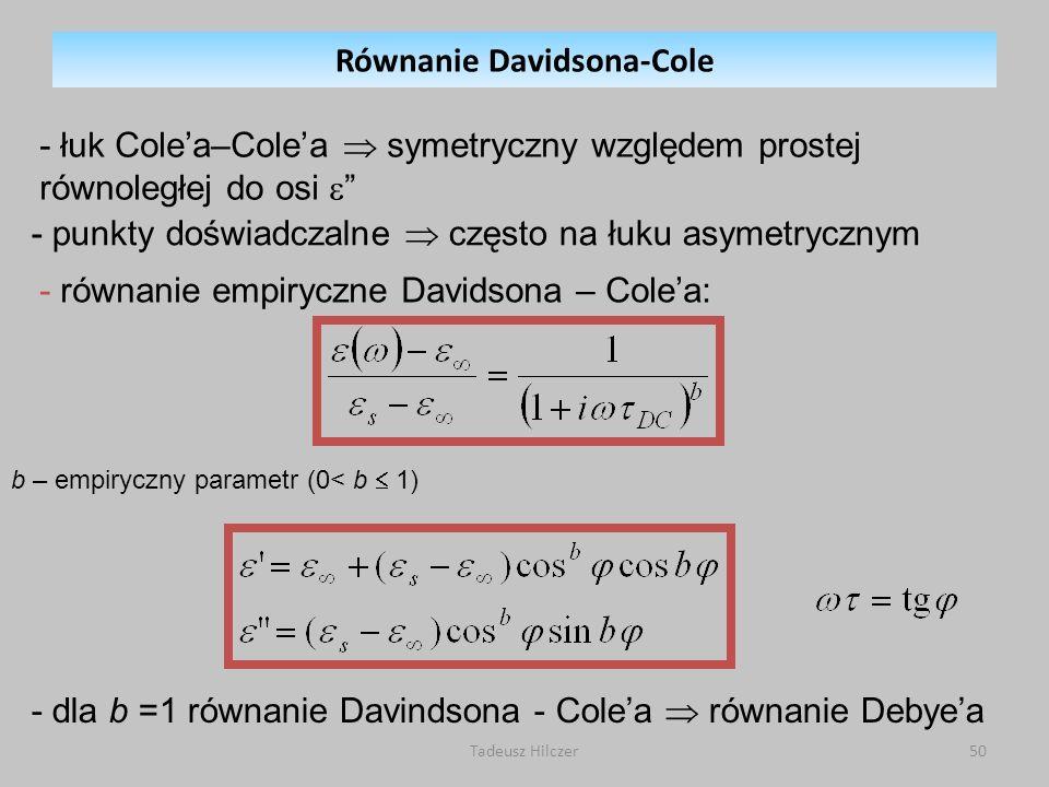 Równanie Davidsona-Cole