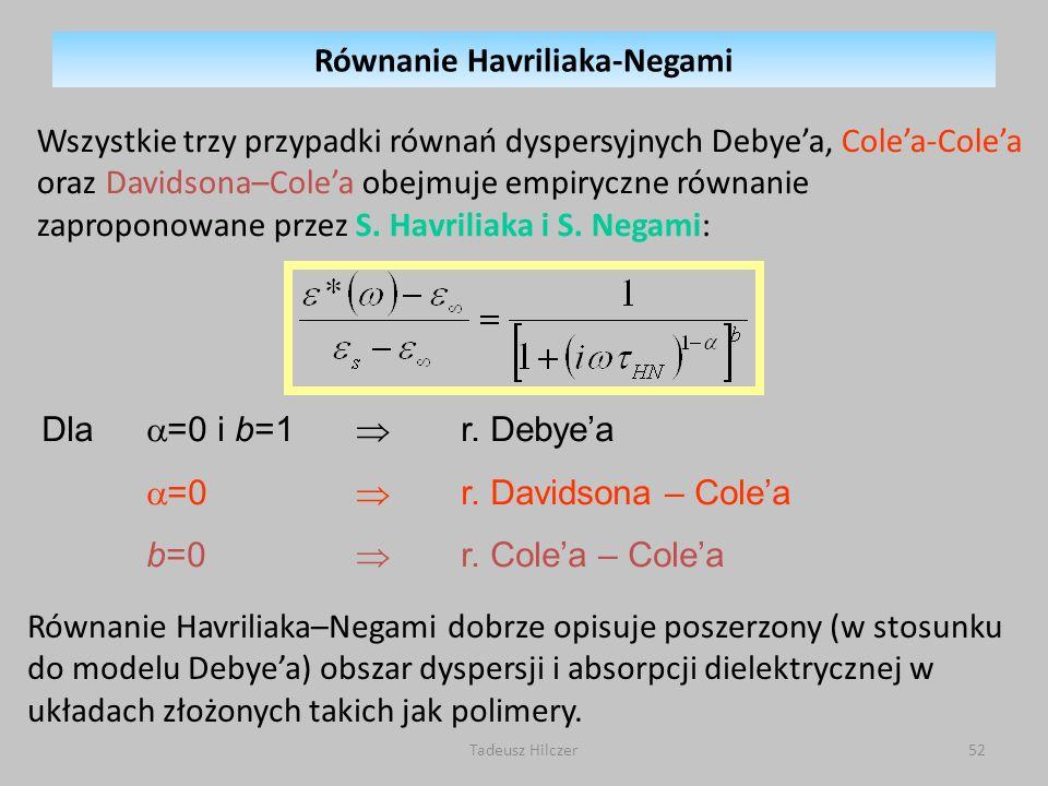 Równanie Havriliaka-Negami