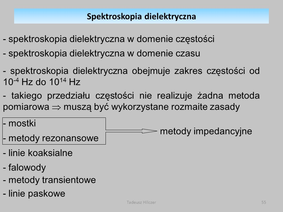 Spektroskopia dielektryczna