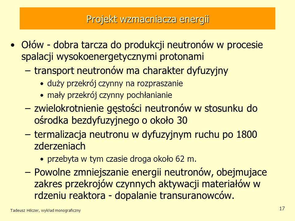 Projekt wzmacniacza energii