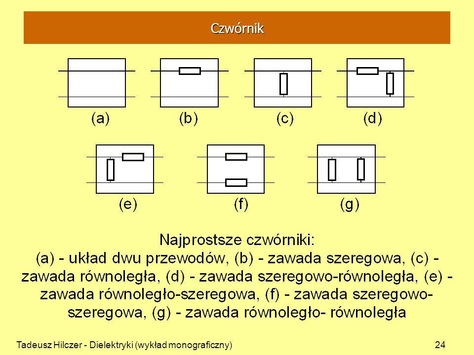 Czwórnik Tadeusz Hilczer - Dielektryki (wykład monograficzny)