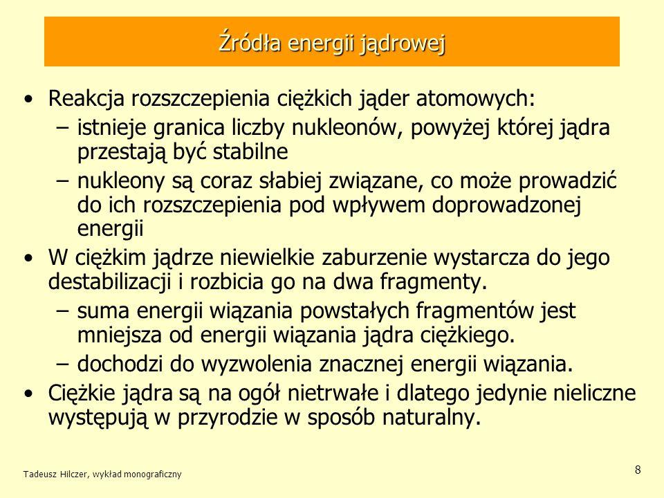 Źródła energii jądrowej
