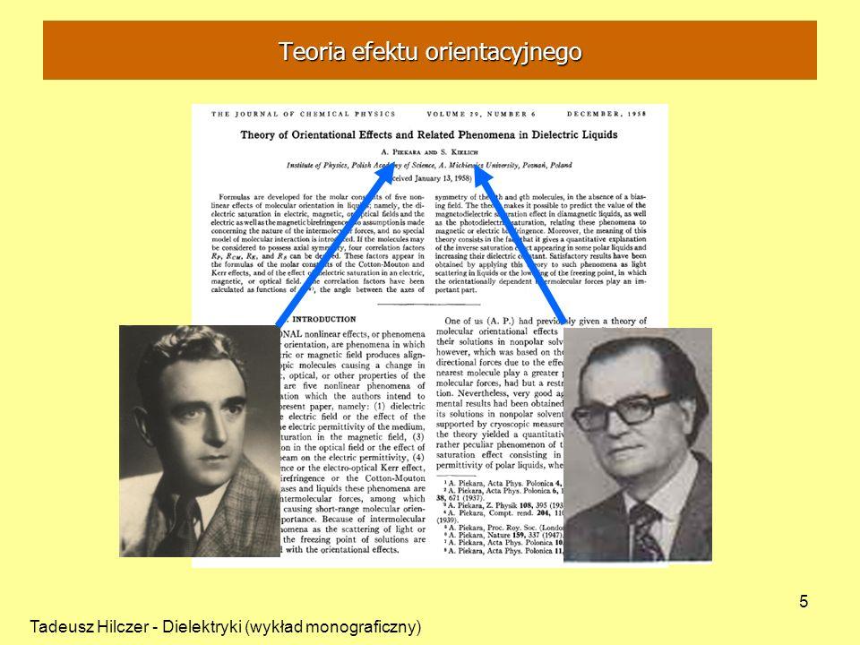 Teoria efektu orientacyjnego