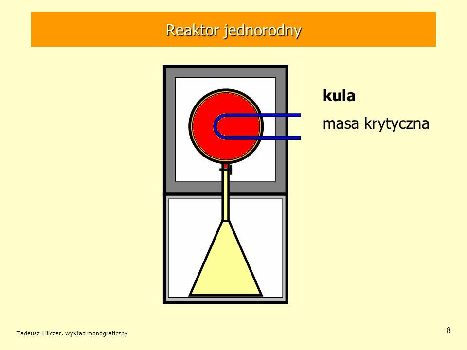 Reaktor jednorodny kula masa krytyczna