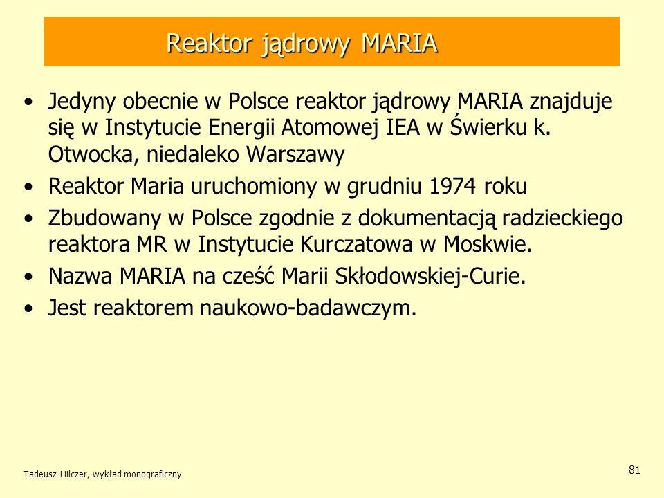 Reaktor jądrowy MARIA