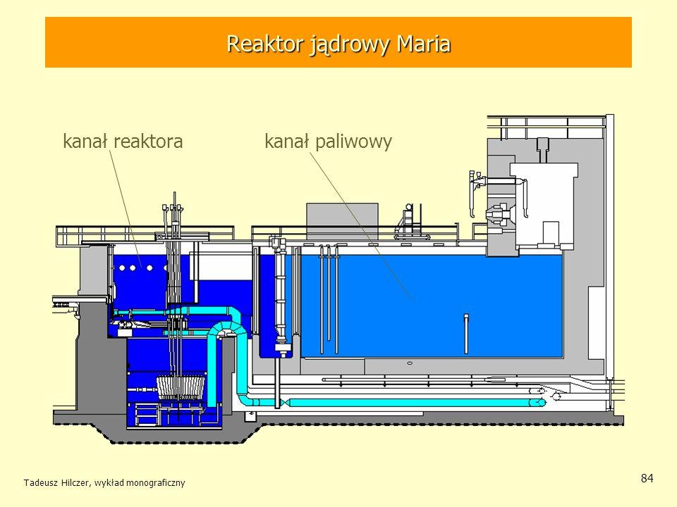 Reaktor jądrowy Maria kanał reaktora kanał paliwowy