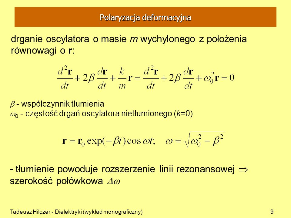 Polaryzacja deformacyjna