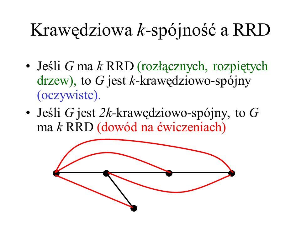 Krawędziowa k-spójność a RRD
