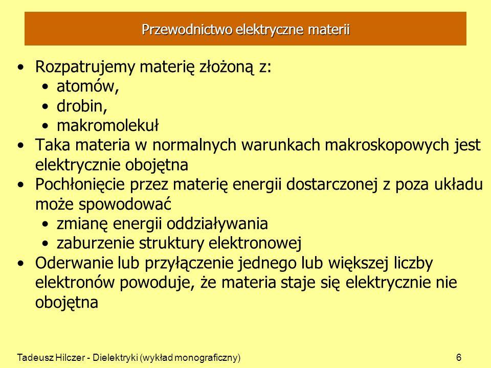 Przewodnictwo elektryczne materii