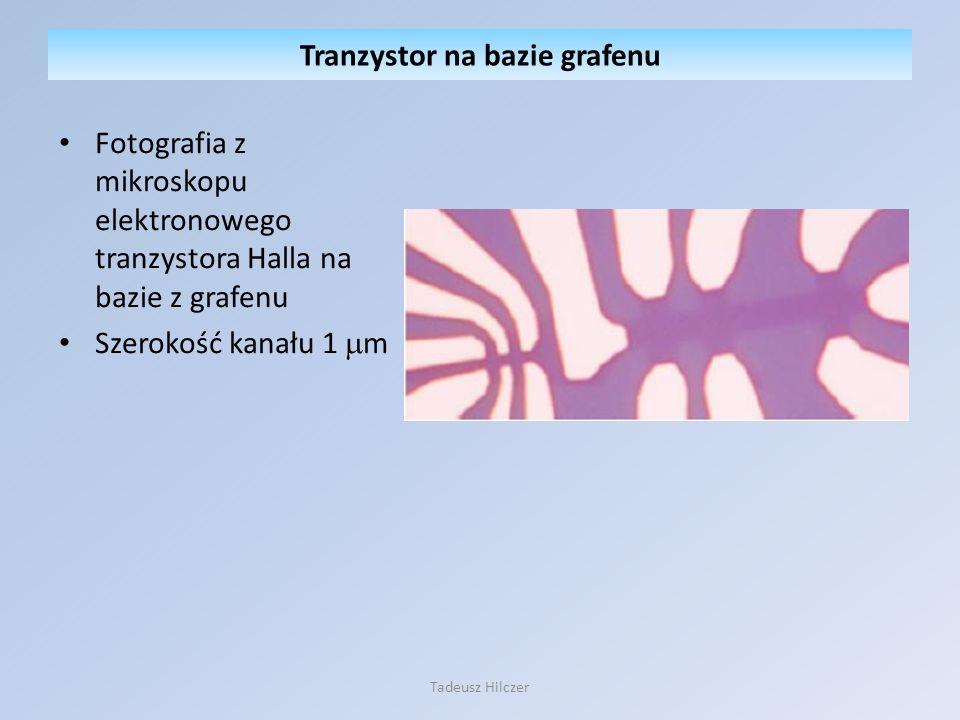 Tranzystor na bazie grafenu