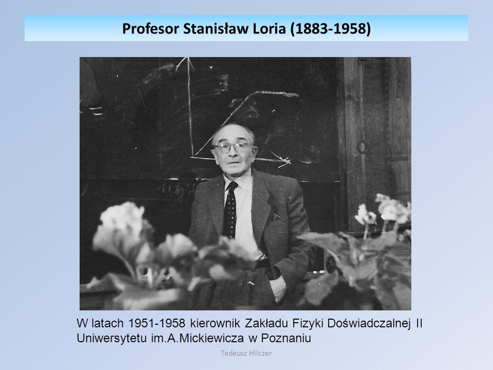 Profesor Stanisław Loria (1883-1958)