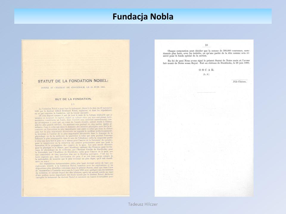 Fundacja Nobla Tadeusz Hilczer