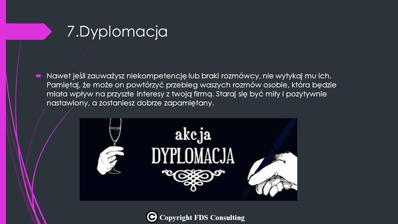 7.Dyplomacja