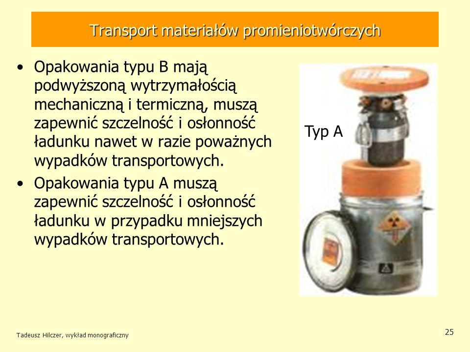 Transport materiałów promieniotwórczych