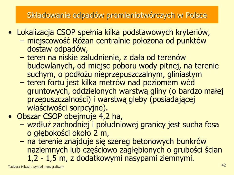 Składowanie odpadów promieniotwórczych w Polsce