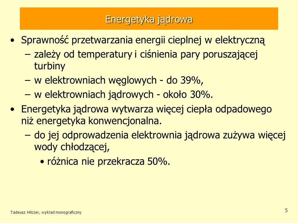 Sprawność przetwarzania energii cieplnej w elektryczną