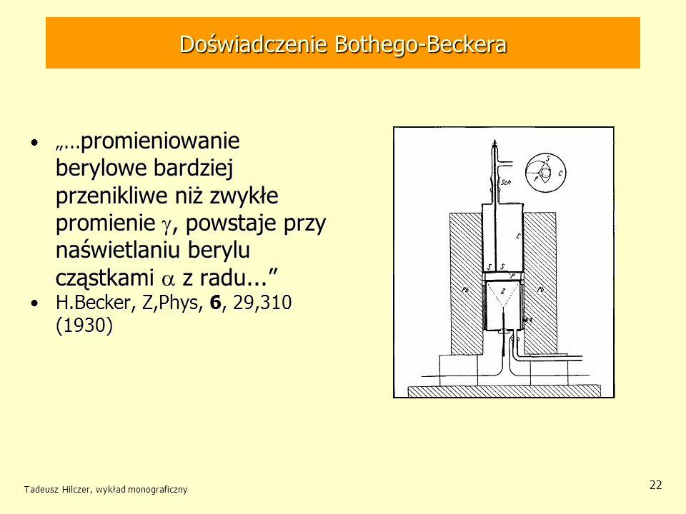 Doświadczenie Bothego-Beckera