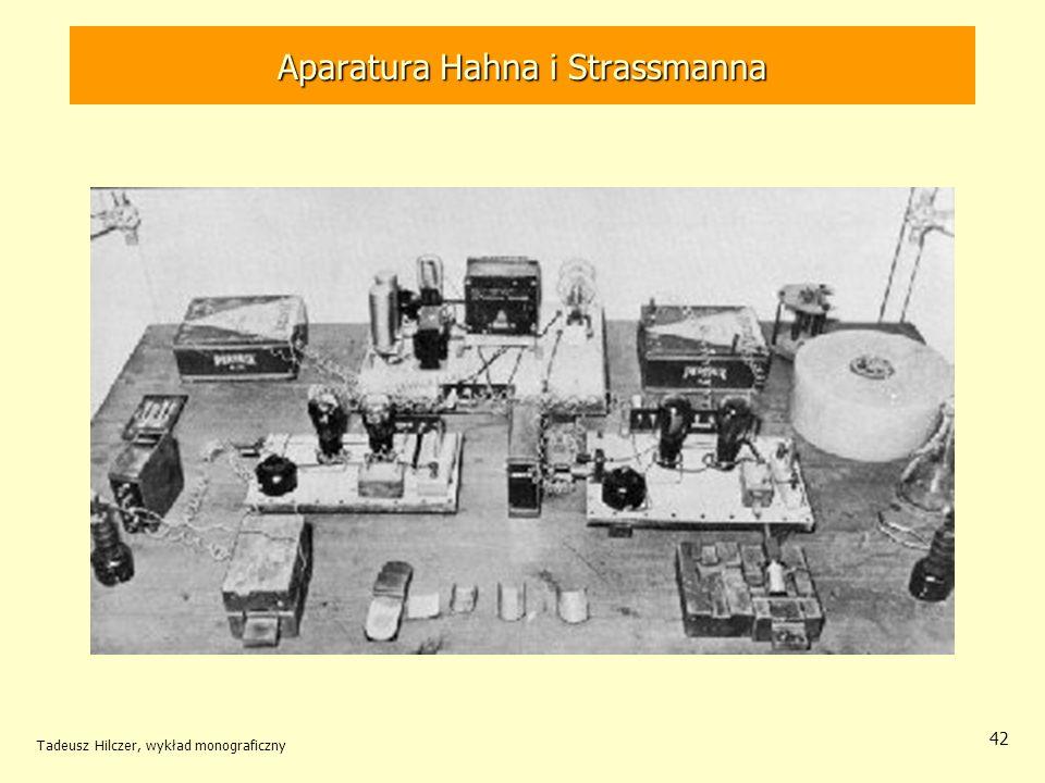 Aparatura Hahna i Strassmanna