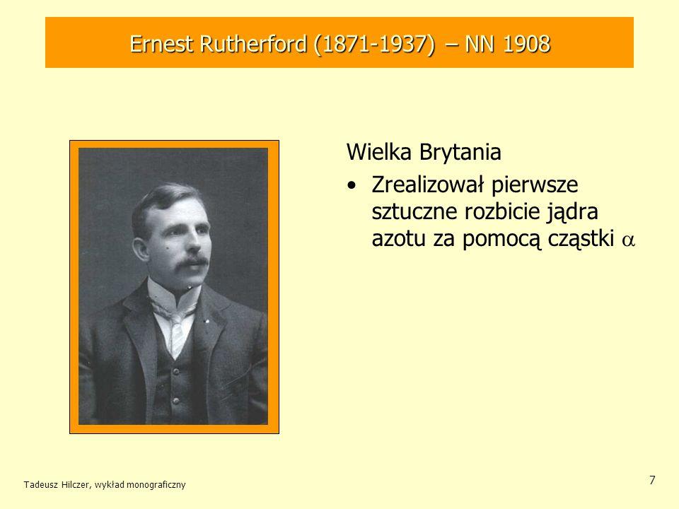 Ernest Rutherford (1871-1937) – NN 1908