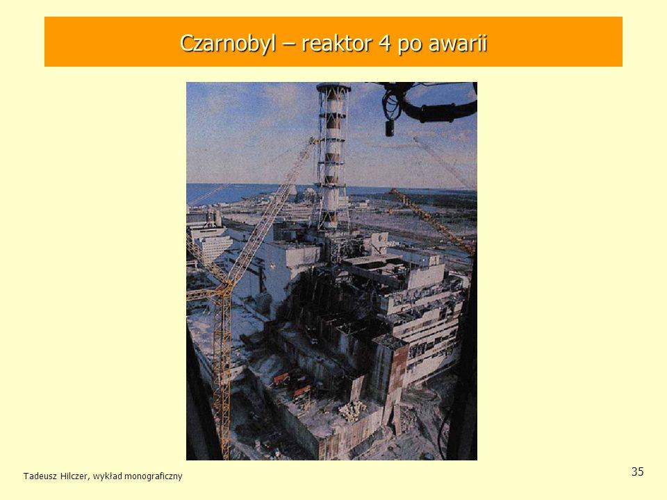 Czarnobyl – reaktor 4 po awarii