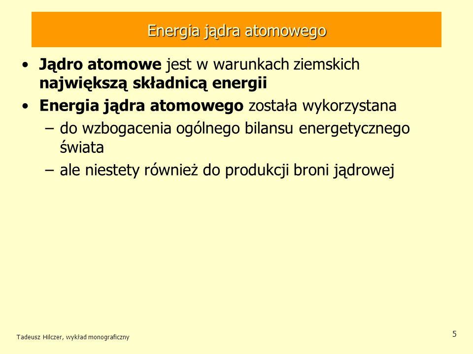 Energia jądra atomowego
