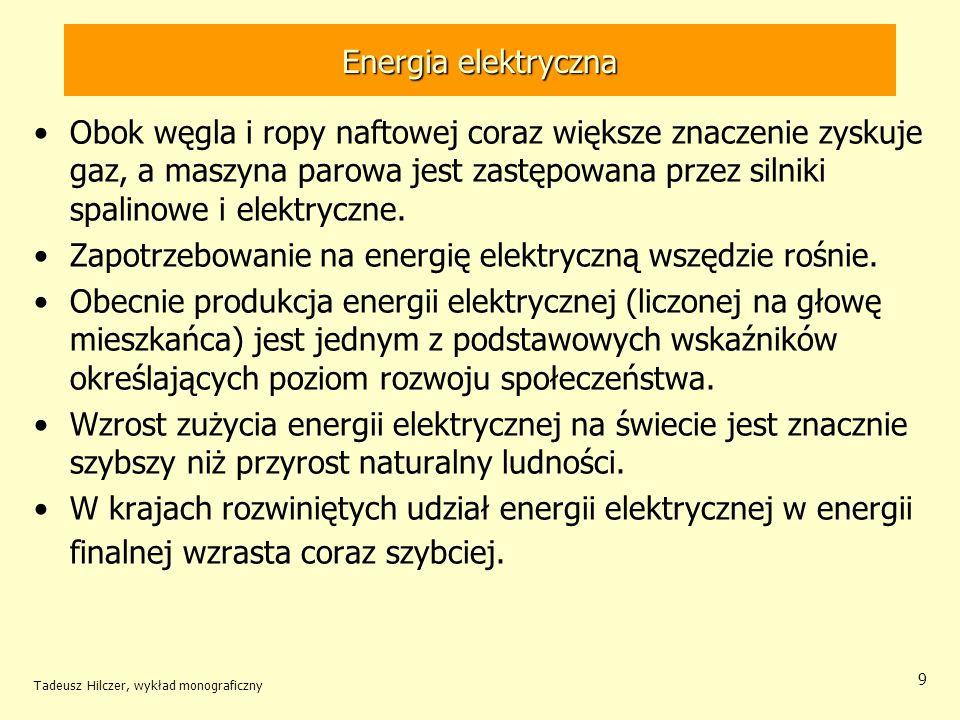Zapotrzebowanie na energię elektryczną wszędzie rośnie.