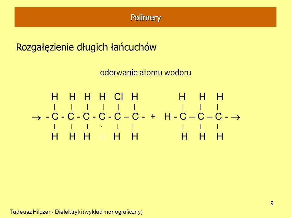 oderwanie atomu wodoru