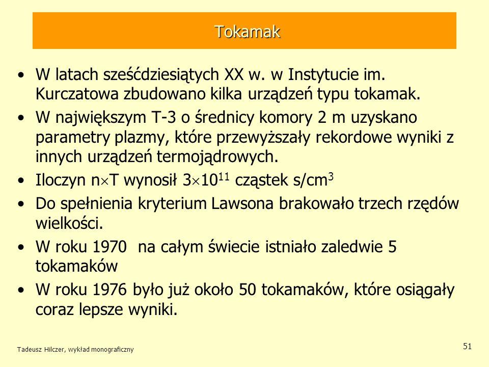 Iloczyn nT wynosił 31011 cząstek s/cm3