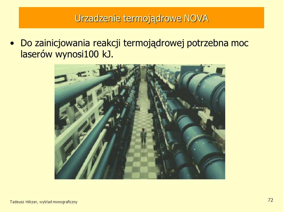 Urzadzenie termojądrowe NOVA