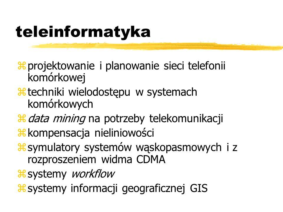 teleinformatyka projektowanie i planowanie sieci telefonii komórkowej