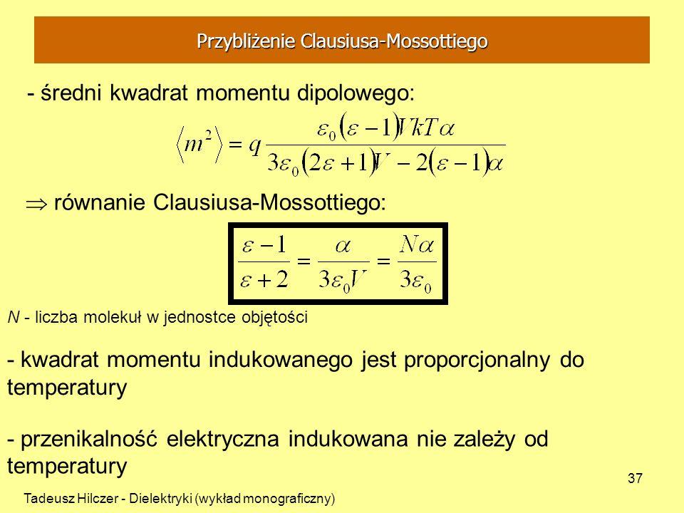 Przybliżenie Clausiusa-Mossottiego