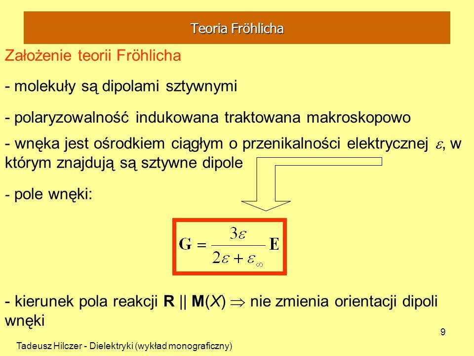 Założenie teorii Fröhlicha