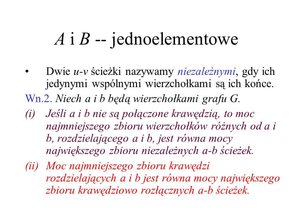 A i B -- jednoelementowe