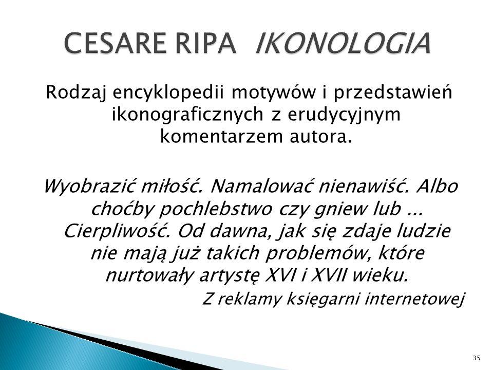 CESARE RIPA IKONOLOGIA