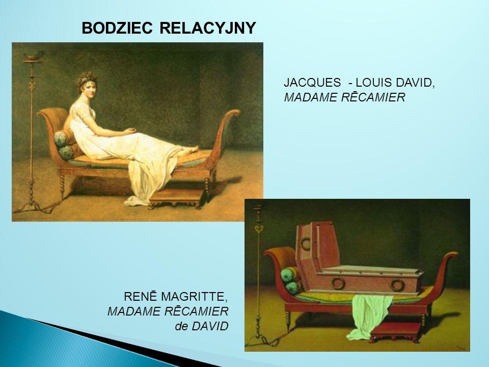 BODZIEC RELACYJNY JACQUES - LOUIS DAVID, MADAME RĒCAMIER