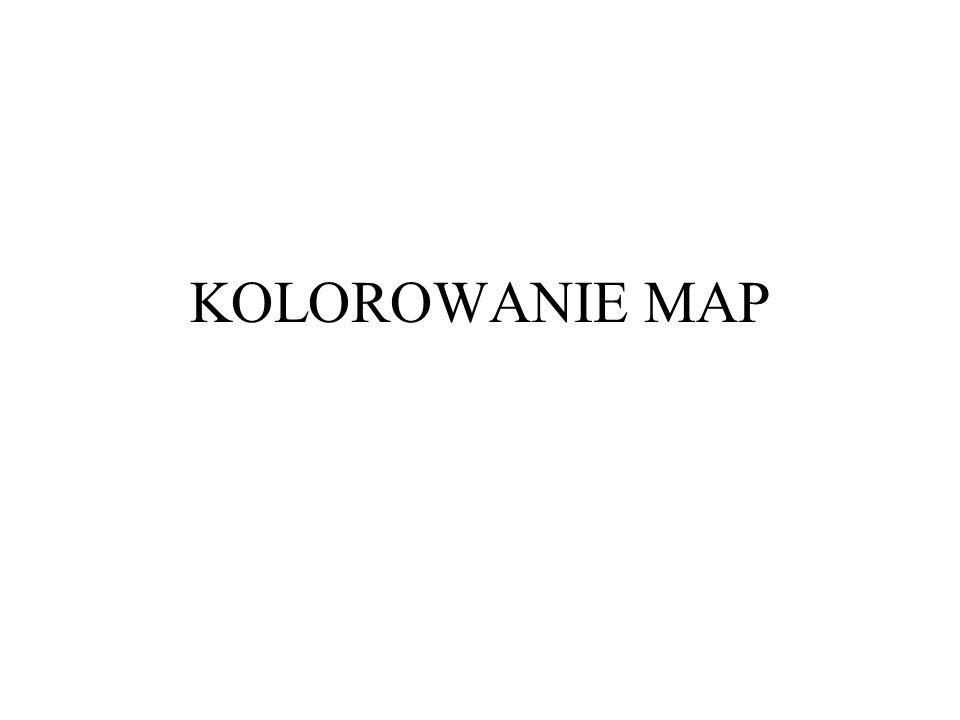 KOLOROWANIE MAP