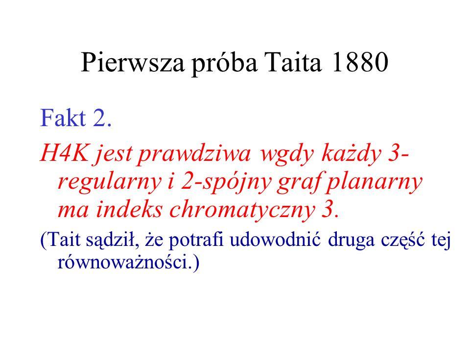 Pierwsza próba Taita 1880 Fakt 2.