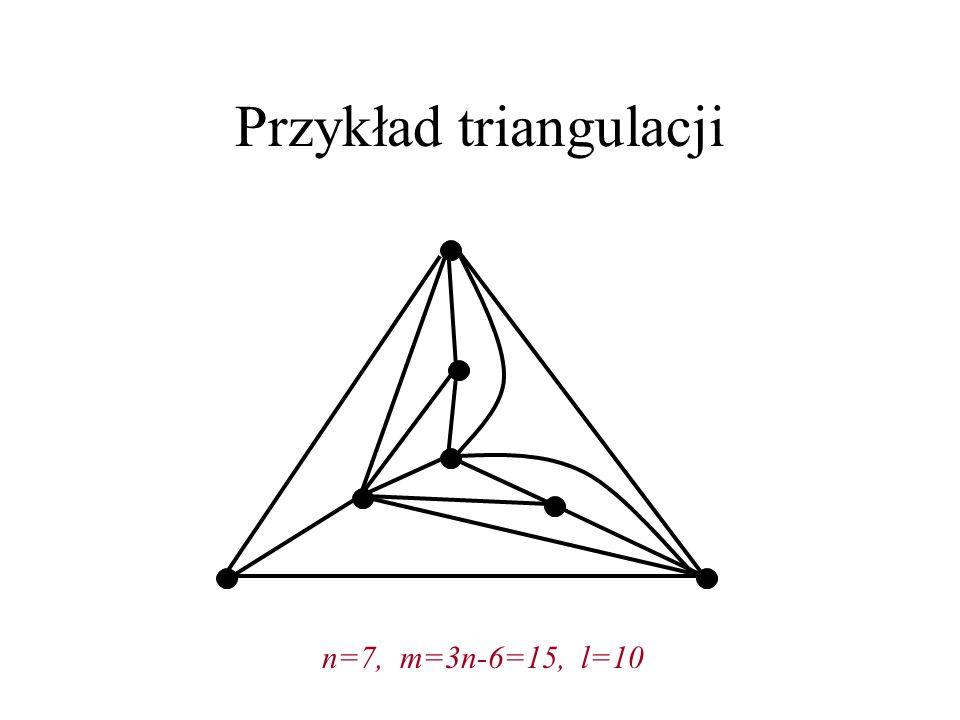 Przykład triangulacji