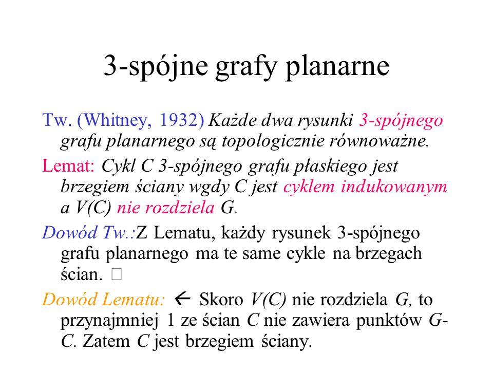 3-spójne grafy planarne