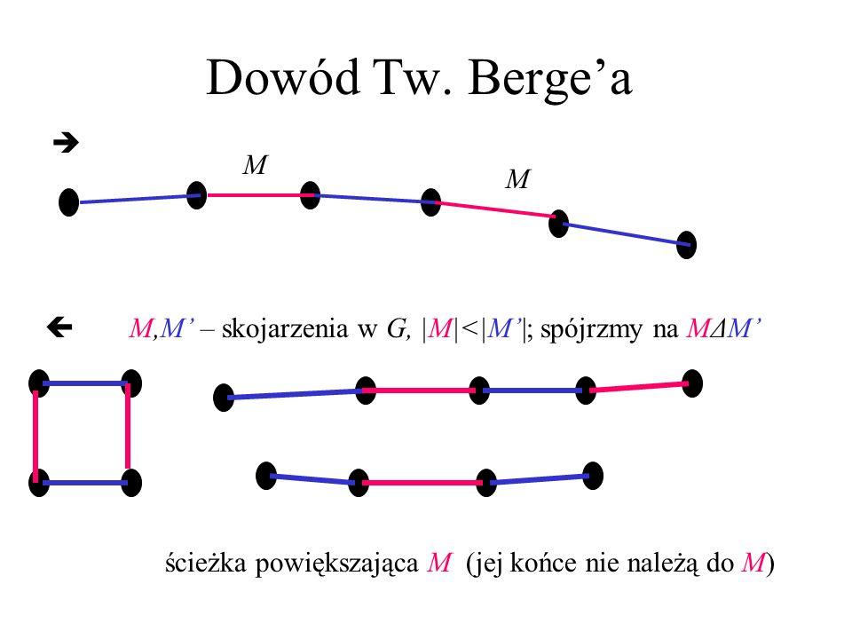 Dowód Tw. Berge'a  M.