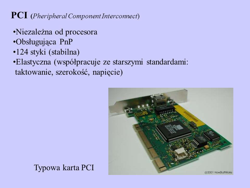 PCI (Pheripheral Component Interconnect)