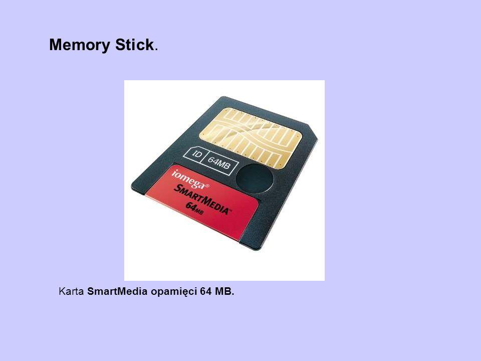 Karta SmartMedia opamięci 64 MB.